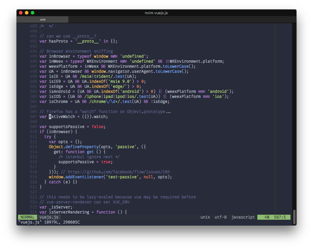 My 8 favorite color schemes for modern vim | Pierre-Adrien